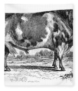 Cattle, 1867 Fleece Blanket