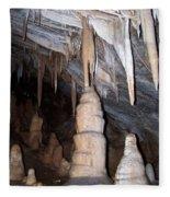 Cave Formations 44 Fleece Blanket