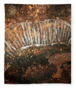 Cave Painting Of A Witchittey Grub Fleece Blanket