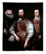 Cavendish Drake And Hawkins Fleece Blanket