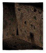 Cavern Walls Fleece Blanket