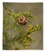 Cedar Rust Gall - Gymnosporangium Juniperi-virginianae Fleece Blanket