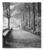 Cemetery At Ypres  Fleece Blanket