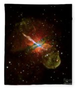 Centaurus A Fleece Blanket