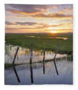 Centennial Sunset Fleece Blanket