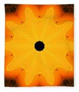 Center Of The Universe Fleece Blanket