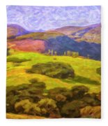 Central Coast Wine Country Fleece Blanket