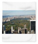 Central Park Fleece Blanket
