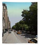 Central Park West Fleece Blanket