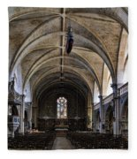 Centuries Old Church Fleece Blanket