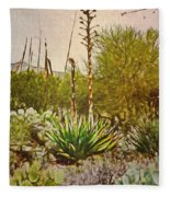 Century Plant Fleece Blanket