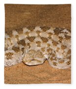Cerastes Cerastes Horned Viper Fleece Blanket