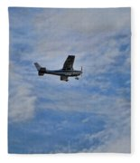 Cessna In Flight Fleece Blanket