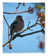 Chaffinch Fleece Blanket