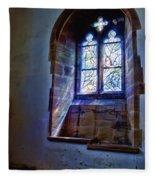 Chagall Window Fleece Blanket