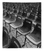 Chairs Fleece Blanket