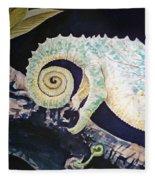 Chameleon Tail Fleece Blanket