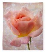Champagne Rose. Fleece Blanket