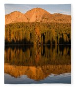 Chaos Crags Reflecting Fleece Blanket