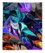 Chaotic Visions Fleece Blanket