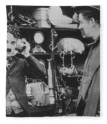 Chaplin: The Pawnshop Fleece Blanket