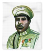 Charles Atangana Fleece Blanket