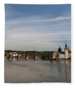 Charles Bridge Fleece Blanket