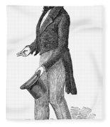Charles Waterton (1782-1865) Fleece Blanket