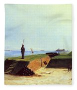 Charleston Battery, 1864 Fleece Blanket