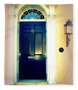 Charleston Door 1 Fleece Blanket