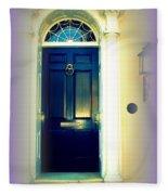 Charleston Door 6 Fleece Blanket