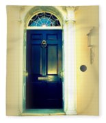 Charleston Door 7 Fleece Blanket