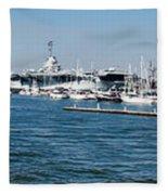 Charleston Harbor Fleece Blanket