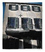 Charleston Houses Fleece Blanket