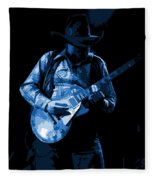 Playing The Blues At Winterland In 1975 Fleece Blanket
