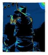 Winterland Cosmic Fiddler Fleece Blanket