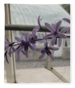 Charming Orchid  Fleece Blanket