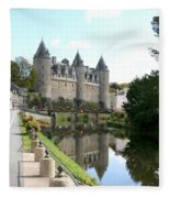 Chateau De Josselin Fleece Blanket