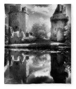 Chateau De Largoet Fleece Blanket