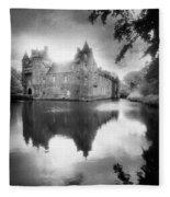 Chateau De Trecesson Fleece Blanket
