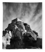 Chateau Des Baux Fleece Blanket