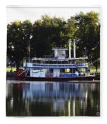 Chautauqua Belle On Lake Chautauqua Fleece Blanket
