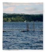 Chautauqua Lake  Fleece Blanket