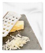 Cheese Grater Fleece Blanket