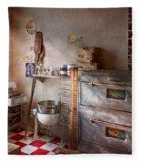 Chef - Baker - The Bread Oven Fleece Blanket