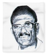 Cheikh Anta Diop Fleece Blanket
