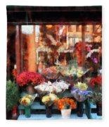Chelsea Flower Shop Fleece Blanket