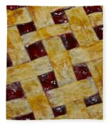 Cherry Pie 3782 Fleece Blanket
