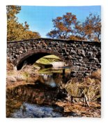 Chester County Bow Bridge Fleece Blanket