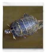Chester River Turtle Fleece Blanket